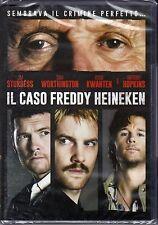 Dvd **IL CASO FREDDY HEINEKEN** con Anthony Hopkins nuovo 2015
