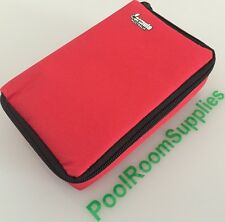 RED DART CASE Compact Quality Multi Pack Dart Board Dart Carry Case Dart Wallet