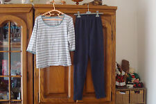 LOT DE 2: LEGGING/CALECON TAILLISSIME 38/40 ET TEE-SHIRT MANCHES 3/4 DAXON 42/44