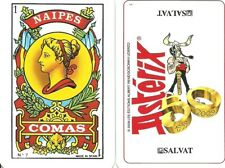 ASTERIX - SPANISH PLAYING CARDS