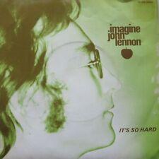 """JOHN LENNON - IMAGINE / IT'S SO HARD  -    - VINYL 7"""" - 45 RPM"""