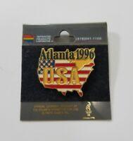 Vintage 1996 Atlanta Olympics games display pin USA