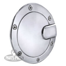 NEW Polished Non-Locking Race Style Gas Fuel Door / FOR FORD F150 PICKUP 04-08