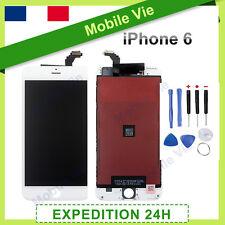 ECRAN IPHONE 6 BLANC VITRE TACTILE + LCD RETINA SUR CHASSIS + OUTILS