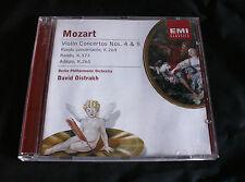 DAVID OISTRAKH 'Mozart Violin Concertos 4 & 5' 2001 EMI Classics CD.