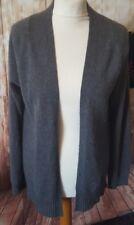 Gap size medium grey 100% cashmere cardigan