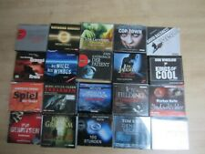 20 spannende Hörbücher * Hörbuch Konvolut 2 * Thriller * CD / MP3 * anschauen