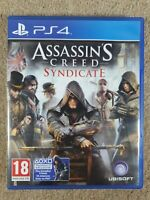 Assassin's Creed Syndicate (Sony PlayStation 4, 2015) VGC.