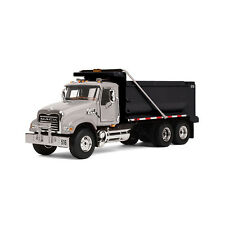 1:50 First Gear *SILVER & BLACK* Mack GRANITE Dump Truck *NIB!*