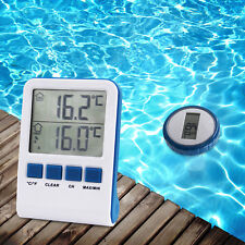 Thermometer Digital  für Pool Wasser Wireless Poolthermometer Temperaturfühler