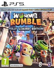 Gusanos Rumble   PS5 PlayStation 5 Nuevo