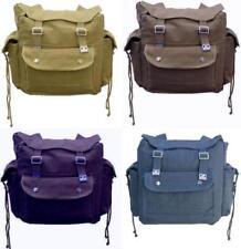 Bolsos de hombre mochilas azules de lona