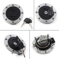 Fuel Gas Tank Cap Lock w/Key for Suzuki GSXR 600 750 1000 Hayabusa GSXR1300
