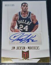 Jim Jackson 2012-13 Panini Momentum AUTOGRAPHS Auto Insert Card (#'d 009/199)