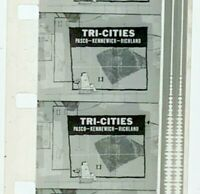 Advertising 16mm Film Reel - West Coast Airlines Tri Cities 3 spots (WC10)