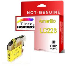 Cartucho Tinta Y Non Oem Brother LC223 LC-223 DCP-J4120DW MFC-J4420DW J4620DW