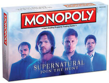 Monopoly SUPERNATURAL JOIN THE HUNT Collector's Edition Board Game New USAopoly