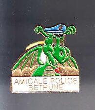 RARE PINS PIN'S .. POLICE NATIONALE  DRAGON BETHUNE 59 ~BF