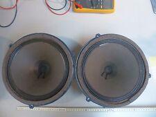pair 25er Telefunken ALNico Ela L-6 vintage alnico fullrange speaker Ultra Rare-