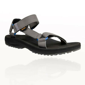 Teva Mens Winsted S Walking Sandal Grey Sports Outdoors Breathable Lightweight