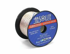 Absolute USA 10 Gauge Car Home Audio Speaker Wire Cable Spool 50'