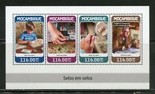 MOZAMBIQUE 2018 STAMP ON STAMP SHEET  MINT NH