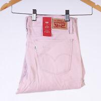 Levi's 710 Super Skinny Super Soft Pale Mauve Rosa Damen Jeans DE 40 /US W32 L30