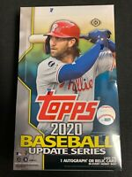 2020 Topps Update Series HOBBY Baseball Factory Sealed Hobby Box