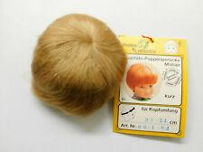 Puppenperücke Meinesz Mohair kurz böond KU 22-24 cm-NEU