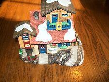 Heritage Department 56 Apline Village Collection Bernhardiner Hundchen House