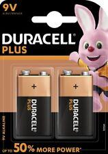 5 x 2er Duracell Plus Power 9V Block MN1604 E-Block 6LR22 Batterie -10 Batterien