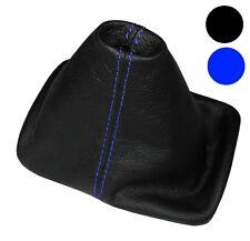 Soufflet de levier vitesse noir CUIR coutures bleues pour VW New Beetle 97-10