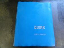 Clark Gpx71ou 119 9078 Forklift Parts Manual I 339 6