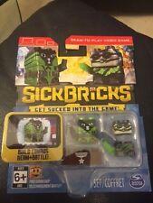 Sick Bricks Team 2 Character Pack Haz Matt Scuba Spy SickBrick Game New!!!