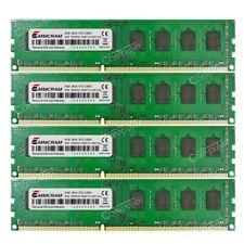New 32GB 4x8GB PC3-12800 DDR3-1600Mhz 240PIN DIMM AMD Desktop Memory RAM ONLY