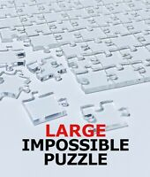 Quarantine LARGE Clear Impossible Jigsaw Puzzle Acrylic 360 PIECES!!