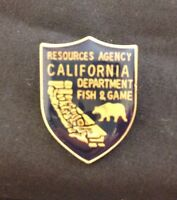 Pin: California Resources Agency Department of Fish and Game