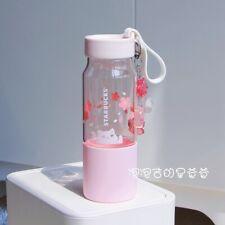 New Starbucks 2020 China Sakura Play With Cat 16oz Cold Water Bottle Tumbler