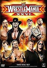 Wrestle Mania XXVI (DVD, 2010, 2-Disc Set)-REGION 4-Brand new-Free postage