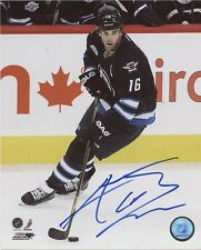 ANDREW LADD WINNIPEG JETS SIGNED 8x10 PHOTO w/ COA