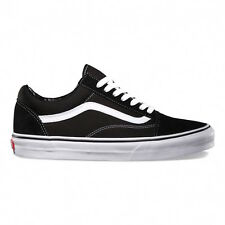 Vans UA Old Skool negro/blanco textil entrenadores zapatos 38.5 EU