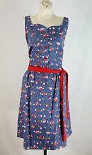 NWT Retrolicious Modcloth Sweetheart Balloons Print Sleeveless Dress Size XL
