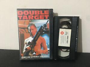 Double Target EX Rental VHS Tape - Avatar - Action War Vietnam