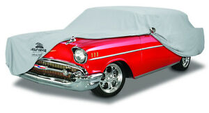 1961-1962 Chevrolet Biscayne & Impala 2DR Custom Fit Cotton Plushweave Car Cover