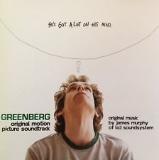 GREENBERG Soundtrack CD Brand New And Sealed