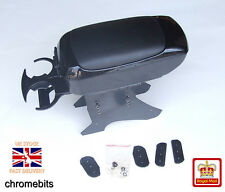 Universal Black Armrest Arm Rest Centre Console for RENAULT CLIO 2 3 MODUS New