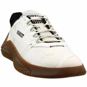 Puma Replicat X X Pirelli Lace Up  Mens  Sneakers Shoes Casual   - Off White -