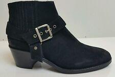 Bnwb.Allsaints Harness ankle boots.uk 4/37 £178.black.ankle