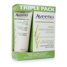 Aveeno Daily Moisturising Cream Lotion( 3 x 200ml ) Dry Skin Moisturiser