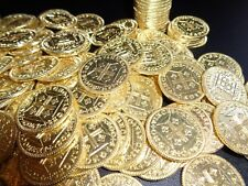 20 Authentic Pirate Gold Coins.